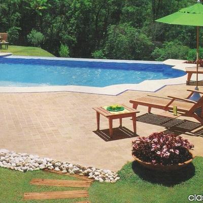 Necesito una piscina de 8 x 4 en fibra con iluminaci n y for Que necesito para construir una piscina
