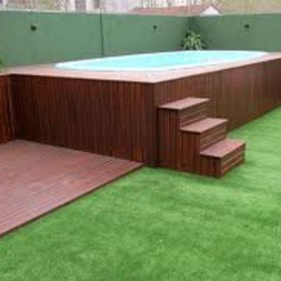 Construir piscina 3 x 2 mts con profundidad en pendiente for Piscinas prefabricadas madera