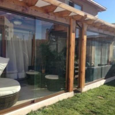 Construcci n terraza quincho y piscina machal regi n for Construccion de casas en terrazas