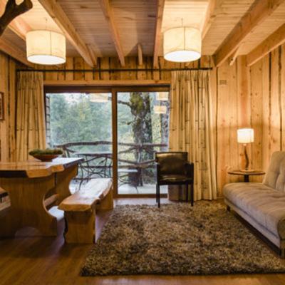 Construcci n caba a madera rustica co aripe panguipulli - Construccion casas rusticas ...