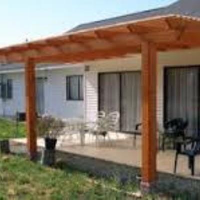 Construcci n terraza pino oreg n iquique regi n i for Modelos de terrazas en madera