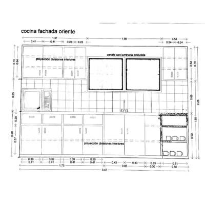 muebles de cocina closet grande a medida ya est hecho On diseño de muebles de cocina con medidas