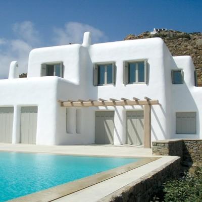 Construccion Casa Estilo Mediterraneo La Serena Region Iv