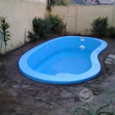 Construir piscina fibra de vidrio con y sin instalaci n for Piscinas para enterrar precios