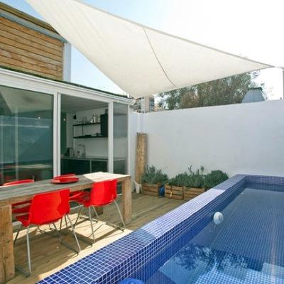 Construcci n de piscina en container villa alemana regi n v valpara so marga marga - Container piscina ...