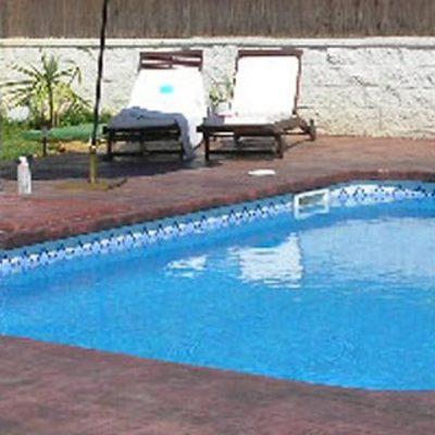 Piscina de 4 x 3 1 metro profundidad con 2 luces el for Presupuesto piscina