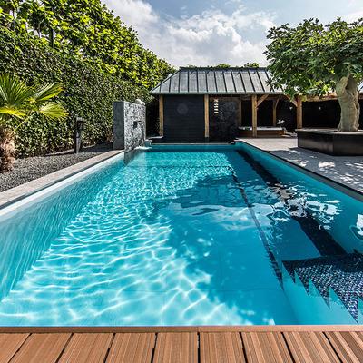 Piscina rectangular para nadar colina regi n for Piscinas alargadas y estrechas
