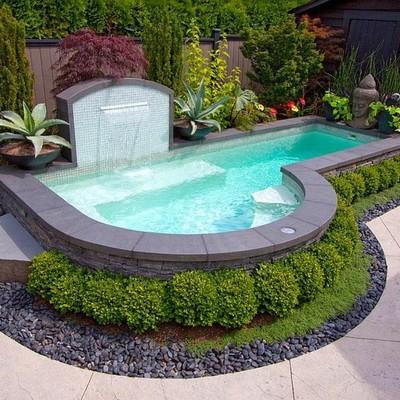 Proveer e instalar piscina fibra de vidrio puente alto - Piscinas en alto ...