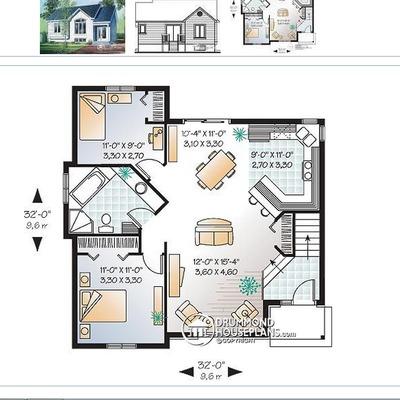 Construir casa con idea de planos aprox 80 metros for Pisos 80 metros