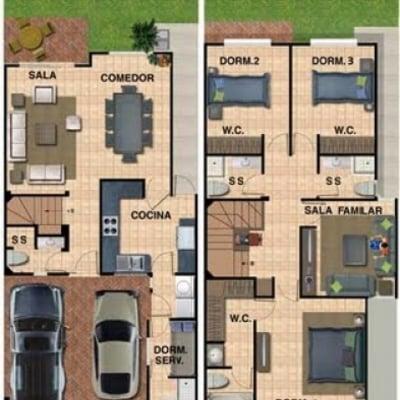 Presupuesto para construir casa de 100m2 valpara so for Realizar planos de casas gratis
