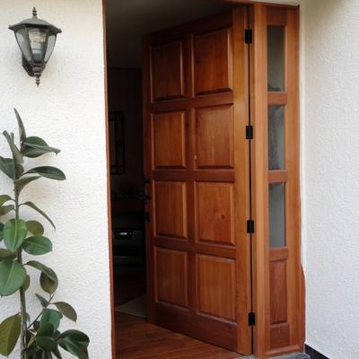 puertas de madera a medida pudahuel regi n