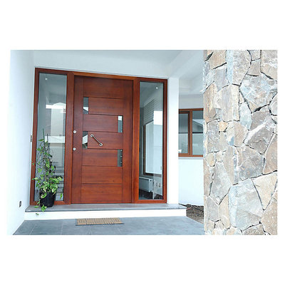 Puerta de entrada y mampara pe alol n regi n metropolitana santiago habitissimo - Medidas puerta entrada ...