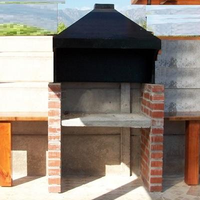 Construir una parrilla de bloques de cemento o ladrillo y - Ladrillos de hormigon ...