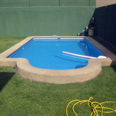 Construccion de quincho pergola y piscina romana la for Piscina 6x3 hormigon