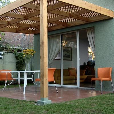 Techo para patio maip regi n metropolitana santiago - Como hacer un altillo de madera ...
