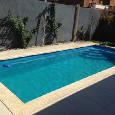 Construcci n piscina en rancagua rancagua regi n vi for Valor construccion piscina