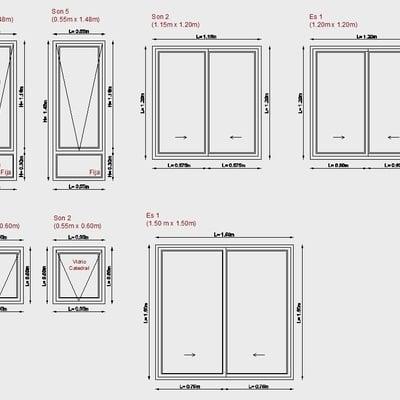 Ventanas aluminio con vidrio padre hurtado regi n for Presupuesto online ventanas aluminio