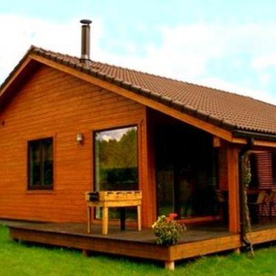 Casa el claro a 5 km de coyhaique coihaique regi n xi - Presupuesto casas prefabricadas ...