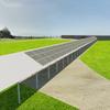Estructura (metalica o madera) para techar sendero que soporte paneles solares