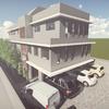 Construcción de un pequeño edificio, de 3 pisos mas terraza habitable descubierta en 4° piso.