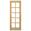 Instalar y ajustar 2 puertas de madera