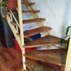 Vitrificar escalera de madera