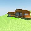Construcción casa metalcom en sector las gaviotas