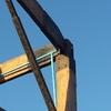 Pergola madera metal solo estructura