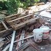 Solicitud de retiro de escombros