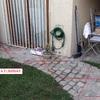 Demoler parrilla y retirar escombros de patio