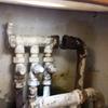 Cotización por rotura entre manifold y cañería calefacción en departamento