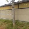 Estucar y reparar muro de bulldog ,reparar 2 postes