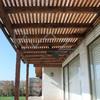 Techo de polibambú para terraza de departamento en ñuñoa
