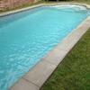 Revestimiento piscina con  marble dust