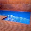 Construcción de piscina  en el mejor lugar del patio y sacar la pre fabricada