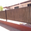 Construcción de muro o pandereta con portón