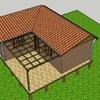 Proyecto y construcción casa dos habitaciones