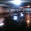 Limpieza de muros y pintura estacionamiento sub