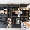 Remodelacion cocina, colocacion de muebles de cocina, y estante de dimensiones grande