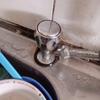 Fuga en llave de lavaplatos