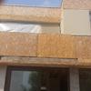 Aplicacion grano fachada y enguinchado