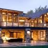 Construcción de dos casas con una fachada