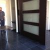 Pared separación living / dormitorio
