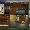 Construcción de casa de 2 pisos con múltiples habitaciones y baños