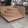 Construir una escalera de muestra