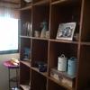 Mueble madera terciado a medida tipo lockees sin puertasertas