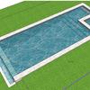 Construcción piscina en obra