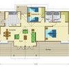 Construir casa prefabricada tipo cabaña 72mts2