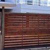 Necesito reja+portón con fierro y madera en huechuraba