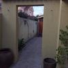 Fabricación de puerta para patio, tipo reja con madera